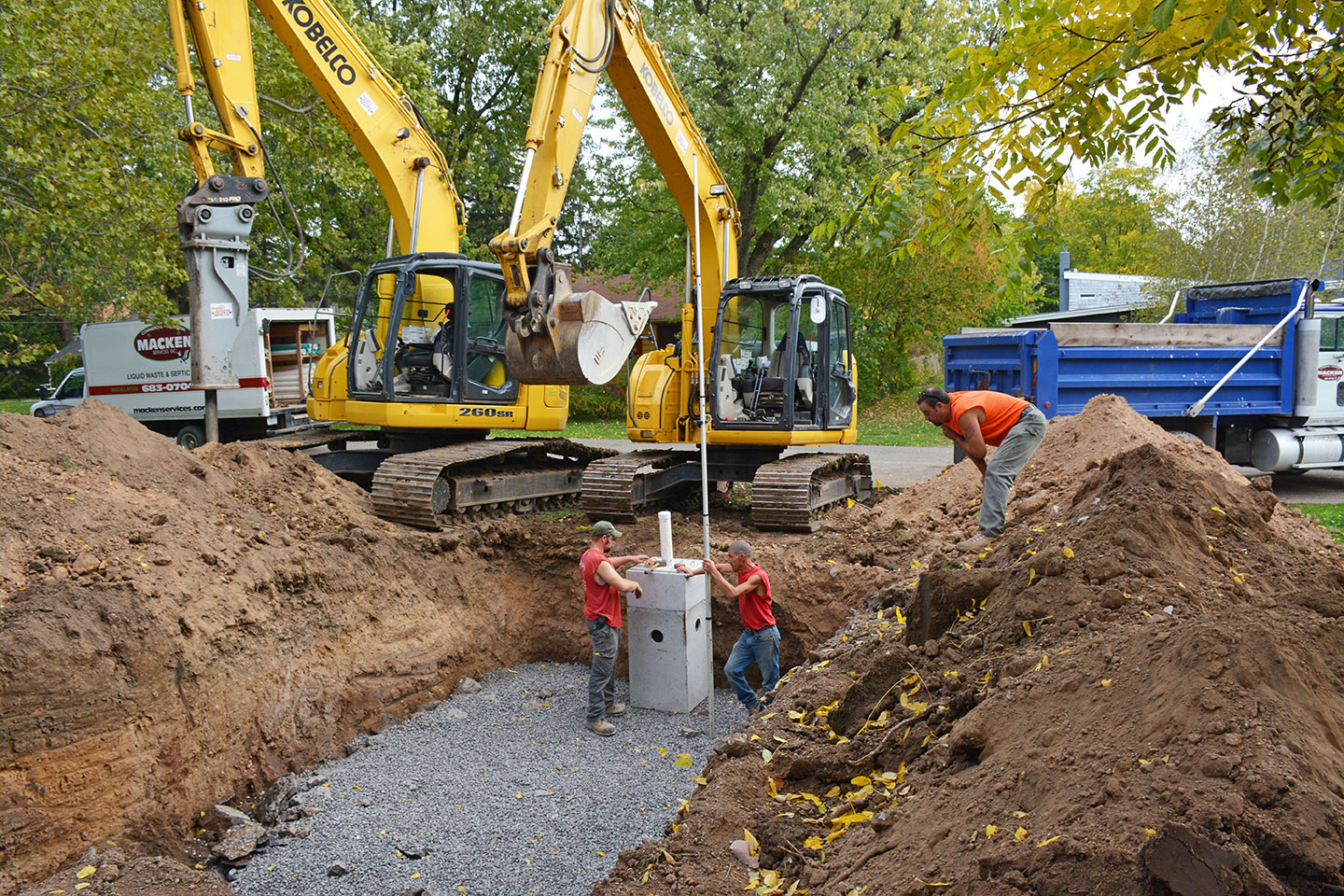 Residential Septic Tank Cleaning In Lancaster Tonyclark1b