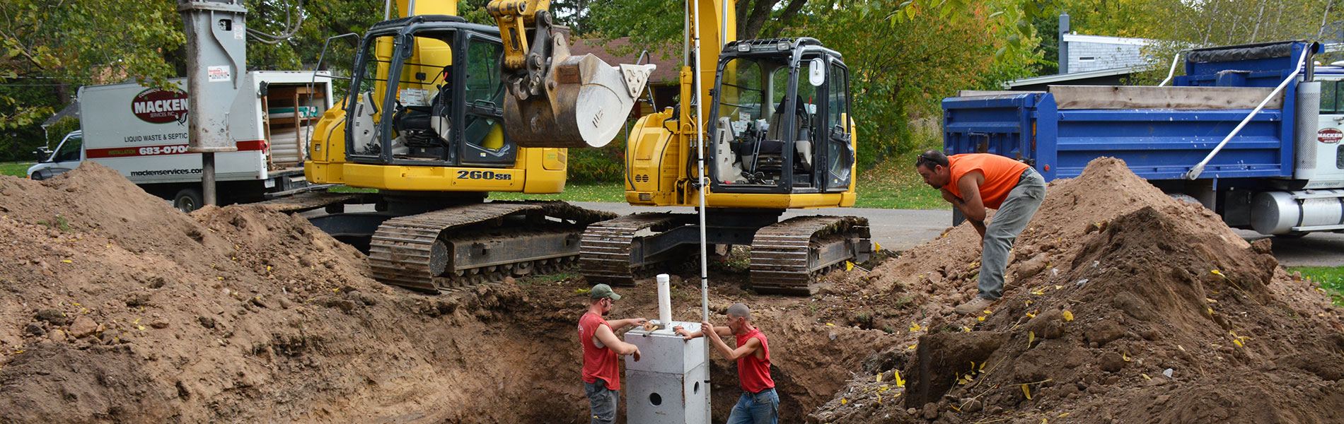 Septic Systems in Lancaster, NY | Septic Tank Cleaning Service